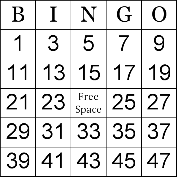 math worksheet : numbers bingo cards : Math Bingo Worksheets