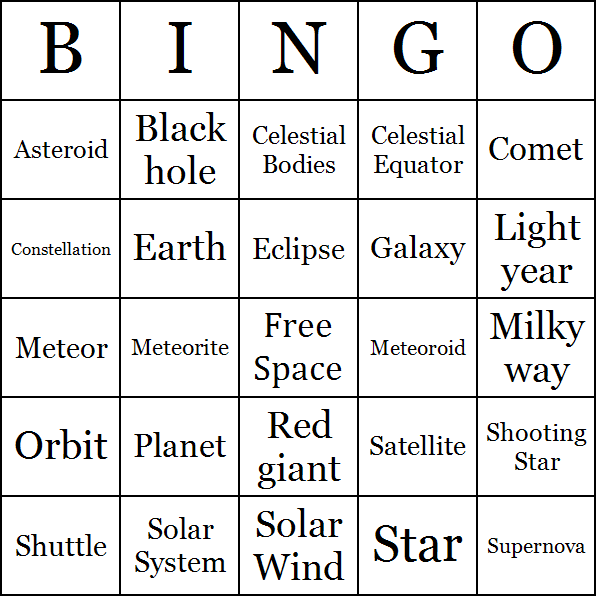 free space card game